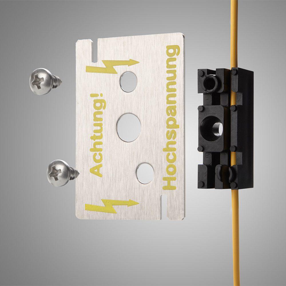 Zusammenbau Hochspannungs-Sensor